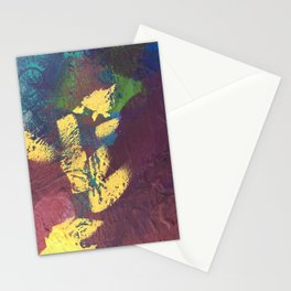 Accidents In Yello Stationery Cards