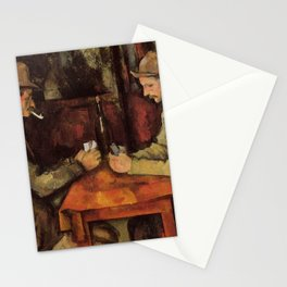 Paul Cézanne - The Card Players Stationery Cards