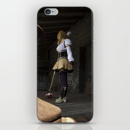 Sorry to rain on your parade, but I'm going to finish you off right here! iPhone Skin