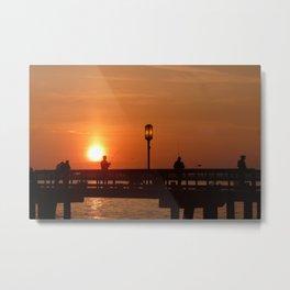 Sunrise at Bishop Park Metal Print