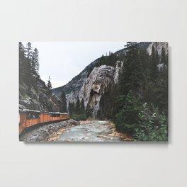 Train Ride Metal Print