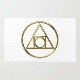 Alchemical symbol Rug