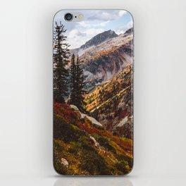 Alpine Autumn iPhone Skin