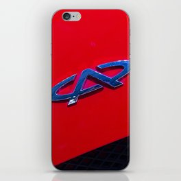 Chery QQ Electric Front Red iPhone Skin