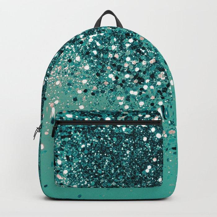 Cali Vibe Beach Glitter #1 #shiny #decor #art #society6 Backpack