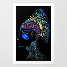 Cheiftain Inverted Art Print