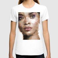 rihanna T-shirts featuring Rihanna by Dnzsea