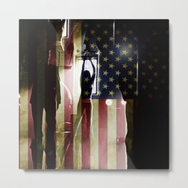 Casting Long Shadows Metal Print
