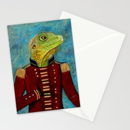 Admiral Lizardford Stationery Cards