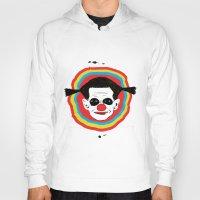 clown Hoodies featuring CLOWN by julianesc