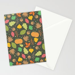 Thanksgiving pattern Stationery Cards