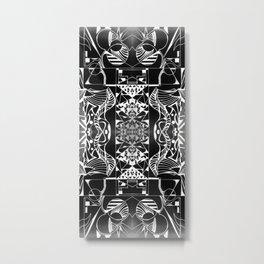Geometropolis Metal Print