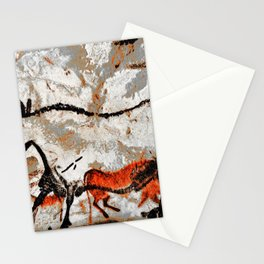 Prehistoric Bull Lascaux Cave Painting Stationery Cards