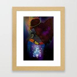Inner Queenly Framed Art Print