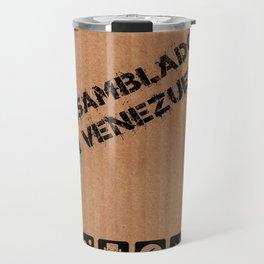Ensamblado en Venezuela Travel Mug