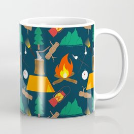 Let's Explore The Great Outdoors - Dark Blue Coffee Mug