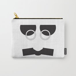 Face Groucho Graphic Carry-All Pouch