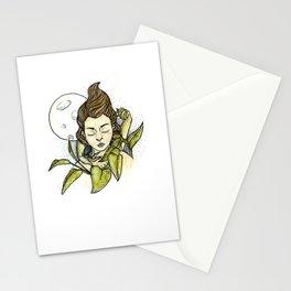 Moonlit Girl Stationery Cards