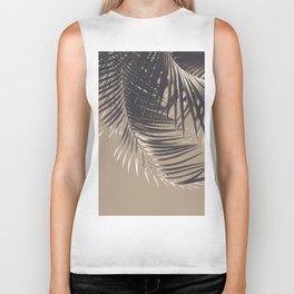 Palm Leaves Sepia Vibes #2 #tropical #decor #art #society6 Biker Tank