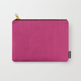 Fuchsia Ultra Pink Wall Decor,  Room Decor, Vanity Wall Art, Bathroom, Gift for Her Carry-All Pouch