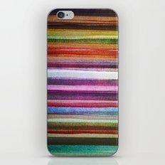 Happy rainbow water colors iPhone & iPod Skin