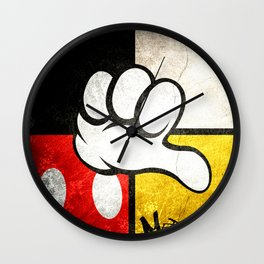 Mediocre Mickey Mouse  Wall Clock