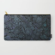 3D ornaments, blue Carry-All Pouch