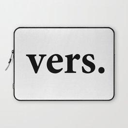 vers. (black font) Laptop Sleeve