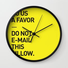 Save the planet. Wall Clock
