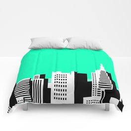 Cityscape #44 Version 2 Comforters