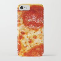 pizza iPhone & iPod Cases featuring PIZZA by @thecultureofme