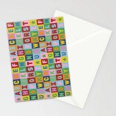 Alphabet Landscape Stationery Cards