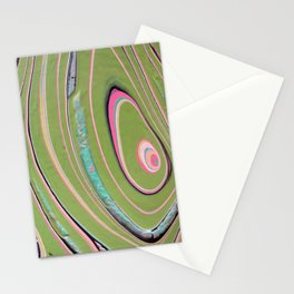 napkin gender/pink green Stationery Cards