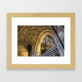Golden Arch Framed Art Print