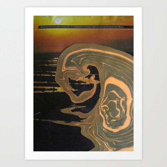 Tidal Wave Art Print