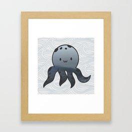 Little Octopus Framed Art Print