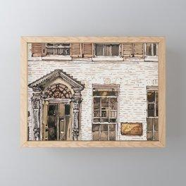 SOLICITORS, Kings Parade, Cambridge, UK Framed Mini Art Print
