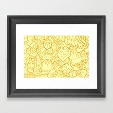 #MoleskineDaily_39 Framed Art Print