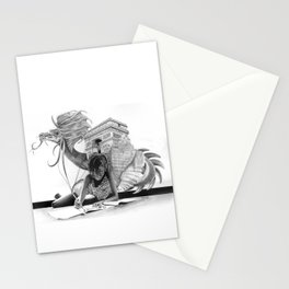 HOW IT BEGINS (featuring the photography of Harvey Lisse w/his daughter Chontelle) Stationery Cards