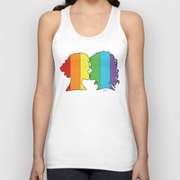 lesbian Tank Tops featuring Lesbian Love  by Winter Graphics