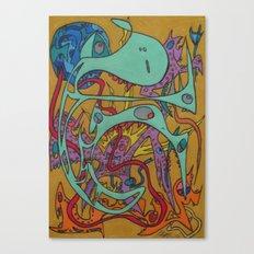 Kundalini Rising Canvas Print