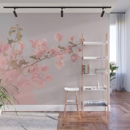 Painting Flowers Wall Mural