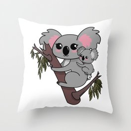 Mother's Day T-Shirt Throw Pillow