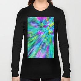 Tie Dye Starburst Long Sleeve T-shirt