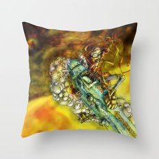 Every Missile Explodes Throw Pillow
