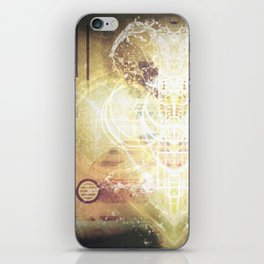 Beautiful Life Force iPhone Skin