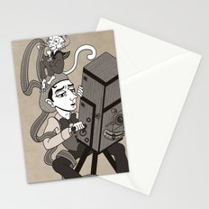 Buster Keaton The Cameraman Stationery Cards