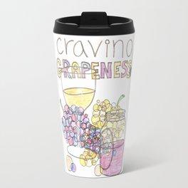 Craving Grapeness Travel Mug
