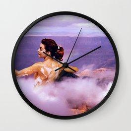 LILAC BATH BOMB Wall Clock