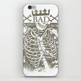 Bad Bones Crew iPhone Skin